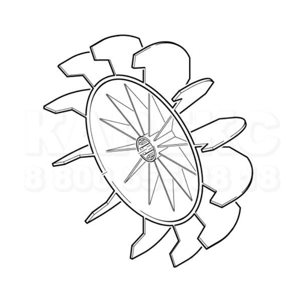 Купить Karcher Крыльчатка вентилятора по выгодной цене 1 015 руб. в интернет-магазине КАРЕКС с доставкой по России